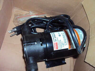"""DAYTON 3YU61 Utility Pump, 1/12 HP ,115 Voltage, 3/4"""" GHT Inlet, 3/4"""" GHT Outlet"""