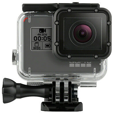 Tempered Glass Waterproof Diving 150ft Housing Case Cover For Gopro Hero 7 6 5