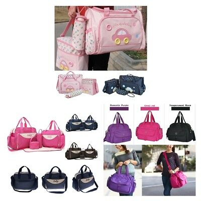Baby Nappy Changing Bag Set Diaper Bags Shoulder Handbag Mommy Bag Travel