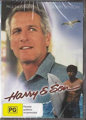 Harry And Son - Paul Newman - New & Sealed Region 4 Dvd