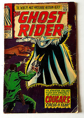 Ghost Rider #3 (1967 Marvel) GD/VG