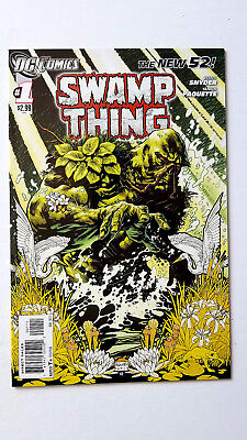 Swamp Thing #1 (2011 DC) VF/NM