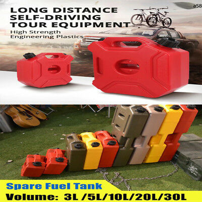 5L/3L/10L Fuel Tank Mount Motorcycle/Car Jerrycan Gas Can Gasoline Oil Container