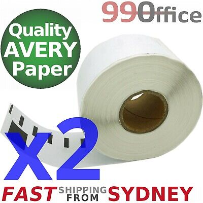 2x Compatible Dymo SD99012 Rolls, 89x36mm, 260 labels per roll, eParcel Sydney
