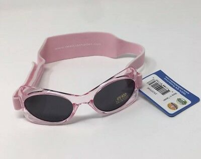 Real Kids Shades Girls Pink Sunglasses UV Protection Age 2-5 Years NWT