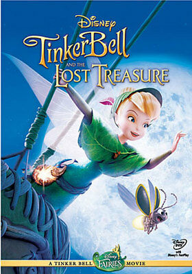 Buena Vista Home Video D41820D Tinker Bell & The Lost Treasure (Dvd/ws 1.78/s...