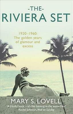 Riviera Set by Mary S. Lovell Paperback Book Free Shipping!
