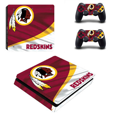 Precise Washington Redskins Nfl Football Super Skin Sticker For Playstation 4 Pro Ps4 Faceplates, Decals & Stickers Video Games & Consoles