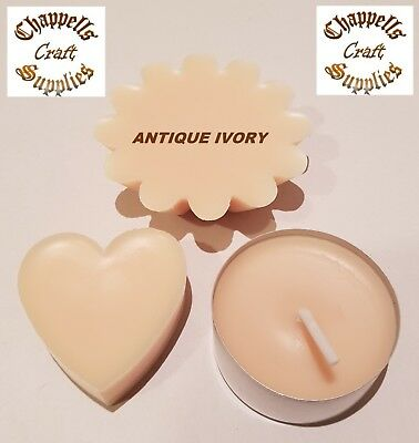 10g Antique Ivory Wax Dye Dyes,Perfect for Paraffin & Soy Wax Candles and Melts