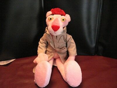"""Pink Panther Doll, Bendable, 12"""" Tall"""