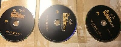 The Godfather trilogy blu ray only