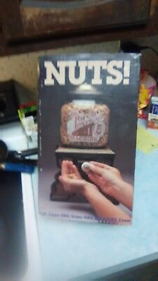"""Vintage wood peanut dispenser """"The Great American Nut Machine 5 cent WITH BOX"""