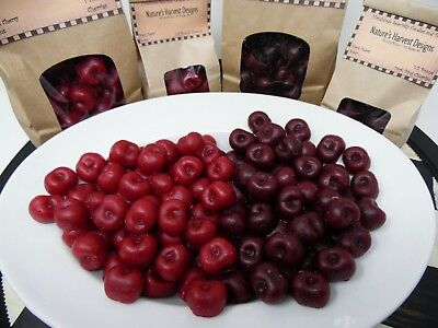 1 lb BING CHERRIES WAX EMBEDS FAKE FOOD SCENTED TARTS MELTS HOME DECOR  64 PC