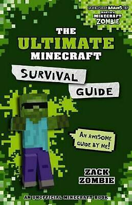 Ultimate Minecraft Survival Guide by Zombie, Zack Paperback Book Free Shipping!