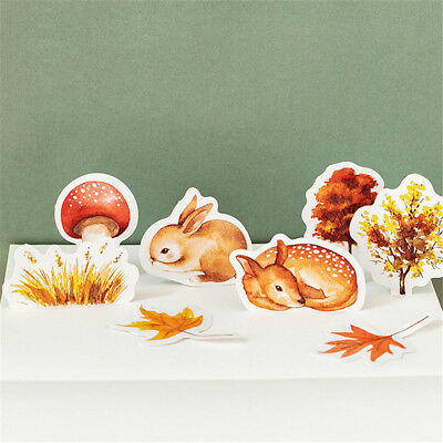 Forest Animals Stickers Cute Stationery DIY Scrapbooking Label Stickers Hot Sale