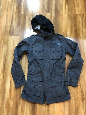7439d31872 Nike Women Tech Pack M-65 Military Style Jacket Small Gray Veilance  Waterproof