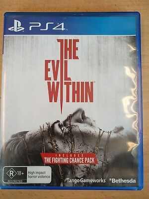 The Evil Within PS4 - Like New