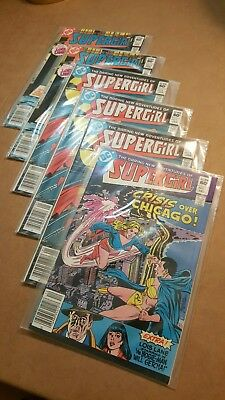 DARING NEW ADVENTURES OF SUPERGIRL 1-#2 / 3-#3s / 2-#4s ...6 BOOKS W/ LOIS LANE