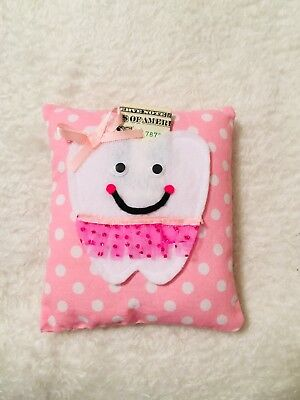 tooth fairy pillow girl . Princess Pillow Homemade . Dollar Not Included