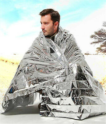 Emergency Foil Thermal Blanket Survival Baby Sensory First Aid Camping CE