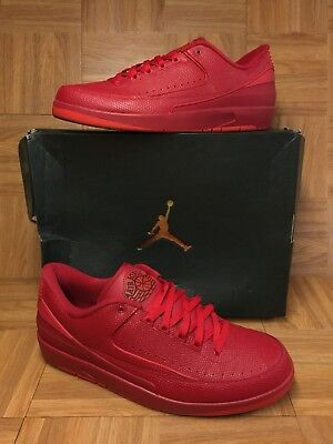 341e14083e54b3 RARE🔥 Nike Air Jordan 2 II Retro Low Gym Red University Red Sz 14 832819