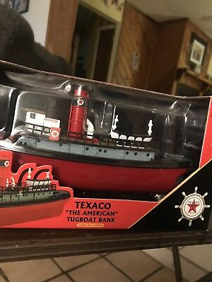 """Texaco 2002 """"the American"""" Tugboat Bank Millennium Edition 3Rd In Series"""