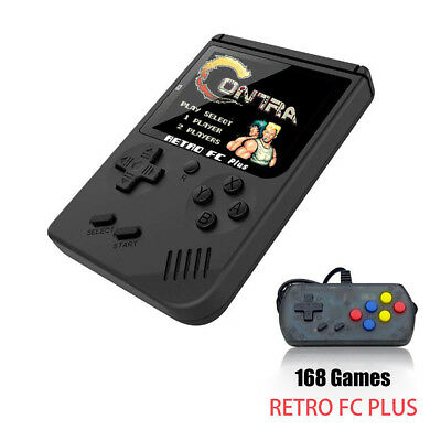 Retro Mini Handheld Video Game Console Built-in 168 Classic Games For Kids Lot