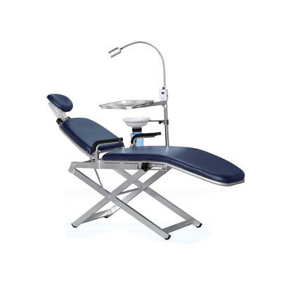 TPC Portable Dental Chair Unit with LED Sturdy And Durable patient stool  hnm