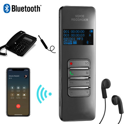 Bluetooth Voice Cell Phone Call Recording Device Android/iPhone Mobile Recorder