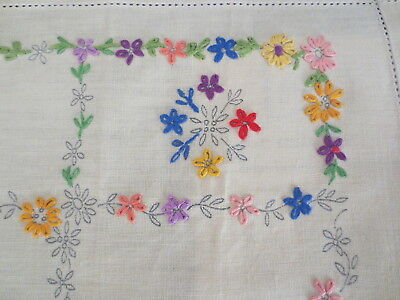 Women's Realm Vintage Craft Tray Cloth Needs Finishing