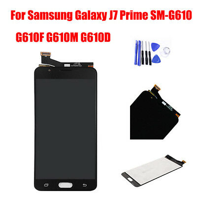 For Samsung Galaxy J7 Prime G610 G610F LCD Touch Screen Display Digitizer Black