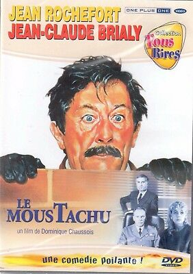 """"""" LE MOUSTACHU """" DVD NEUF - Jean Rochefort - Jean-Claude Brialy - Chaussois 1987"""