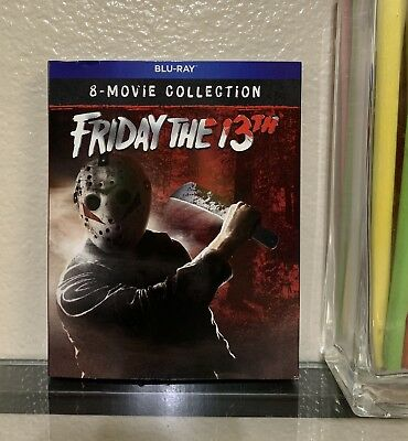 FRIDAY THE 13th / 8-movie collection blu-ray - factory sealed