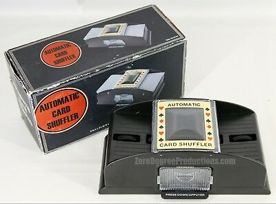 Casino Deluxe Automatic 2 Deck Card Shuffler AS IS