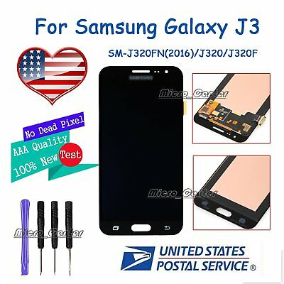 LCD DISPLAY TOUCH Screen For Samsung Galaxy J3 2016 J320 J320A Digitizer  USPS
