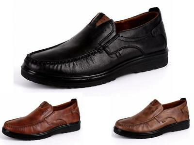 Mens Casual Shoes Walking Slip On Comfy Driving Boat Formal Dress Shoes Sizes AU