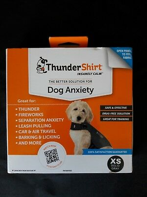 ThunderShirt Calming Anxiety Relief T-Shirt Wrap for Dogs XXS, XS, SM