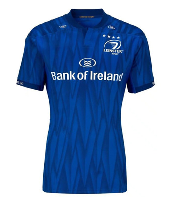 2018-2019 Ireland leinster Home rugby jersey short sleeve
