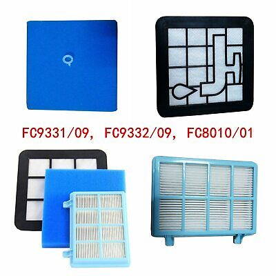 Replace Filters Kit for Philips Power Pro Compact FC9331/09 FC9332/09 FC8010/01