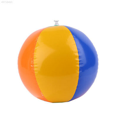 23cm Outdoor Sport Colors Inflatable Balloons Beach Ball Swim Fun Kids