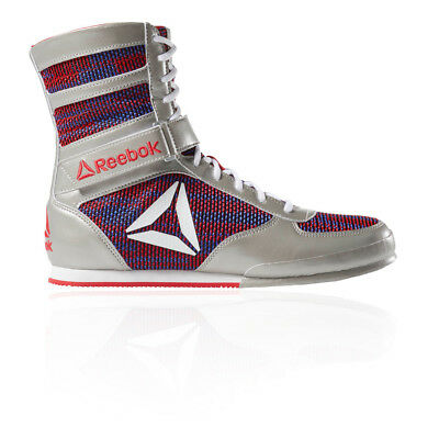 Reebok Mens Boxing Boot Silver Sports Breathable
