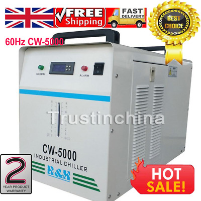 220V 60Hz CW-5000  Industrial Water Chiller for One 80W/100W CO2 Glass Laser