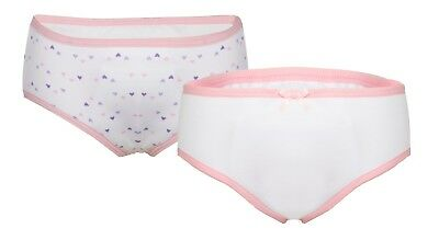 Girls Concealed Padded Brief - Girls Incontinence Pants - Washable