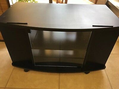 Rolling Tv Stand Cart Mount Wheels For Oled Led Flat Screen Fits