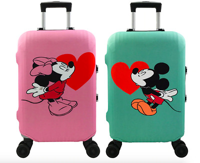 Cartoon Mickey Minnie Elastic Suitcase Luggage Bags Cover Protector Anti scratch