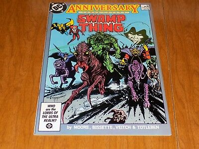 Swamp Thing #50 - First Appearance of Justice League Dark (1986) Deadman ~ LOOK