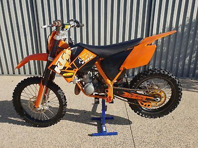 Ktm 85 Big Wheel (2009) With All Accessories Shown