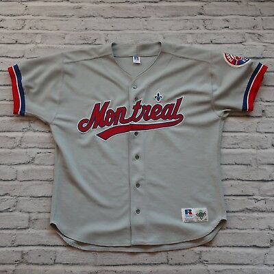 Vintage Montreal Expos Authentic Baseball Jersey Diamond Collection Made in  USA add49bf64