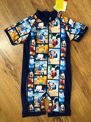 Matalan Baby Boys Surf Suit Swimwear Bnwt All Ages Sun Protection Disney