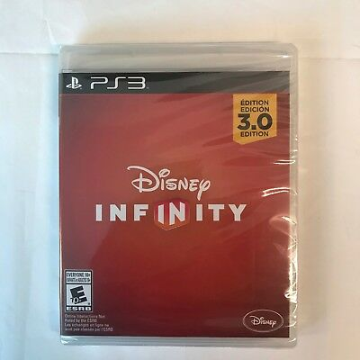 Disney Infinity 3.0 PS3 Game Disc Only Factory Sealed NEW